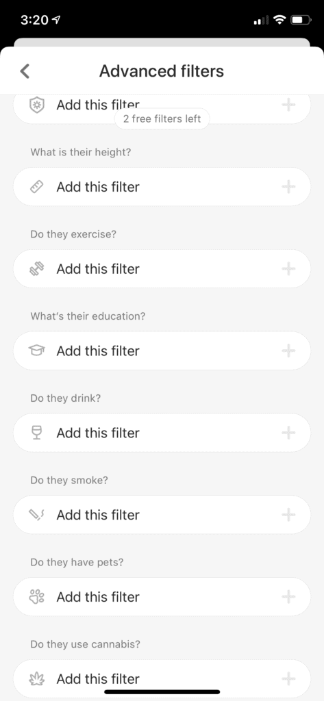 Bumble Boost features
