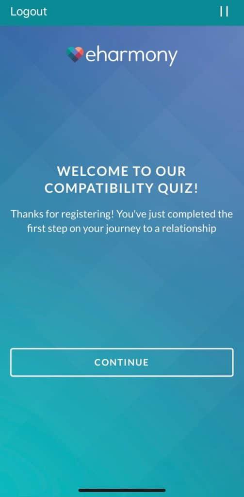 eHarmony Compatibility Quiz