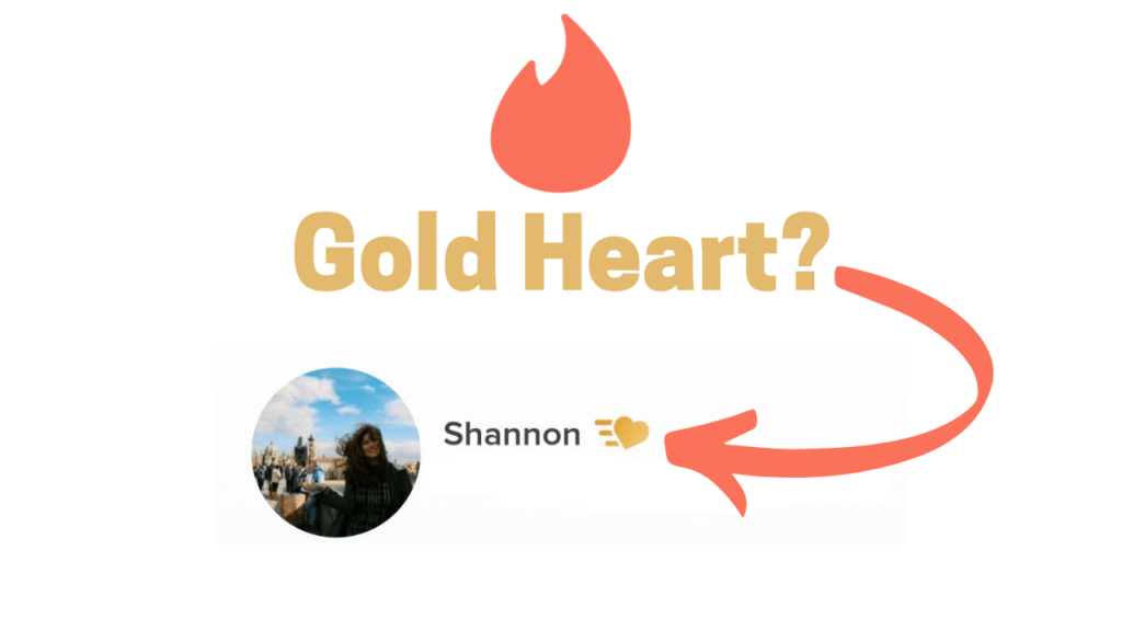 On Tinder What Does The Yellow/Gold Heart Mean - Dating