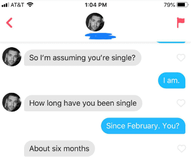 Tinder conversations