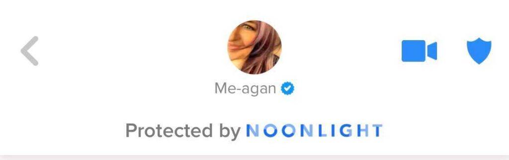 Noonlight notification on Tinder